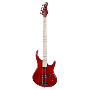 "MTD Kingston ""The Artist"" Bass Guitar (4 String, Maple, Transparent Cherry)"