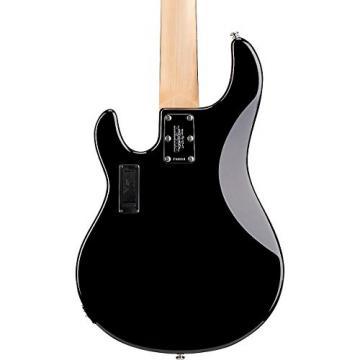 Ernie Ball Music Man StingRay 5 5-String Bass Guitar Black Rosewood Fretboard