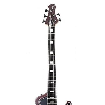 ESP EIISTREAMSL5DMRS Bass Guitar, Deep Red Metallic Satin