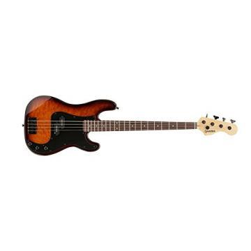 Spector CODAP4PROSB CodaBass4P Pro Sunburst Gloss Bass Guitar with Black Pickguard, P-Style Body & Neck