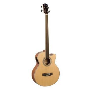 Johnson JB-24F-NA Deep Body Jumbo Bass, Fretless