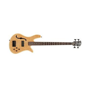 Spector SCORE4NAT core 4 Aged Natural Gloss Bass Guitar, Fretted Bartolini Pickup