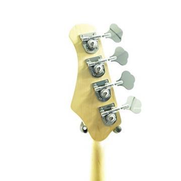 Effin Guitars model EBI/SB Ball Look Sunburst Ernie Style Bass Guitar