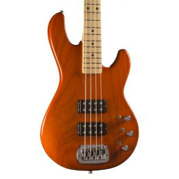 G&L USA L-2000 Bass, Clear Orange, Maple