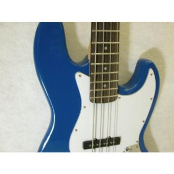 """ELECTRIC BASS - SKY BLUE Maple Rosewood 47""""- PJ 4-String Guitar Brand New"""