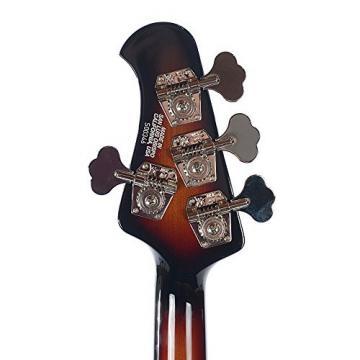 Music Man StingRay 4 HS Bass RW Vintage Sunburst w/Black Pickguard