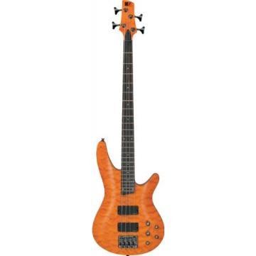 Ibanez Sra500am Arched Quilted Maple Top Amber