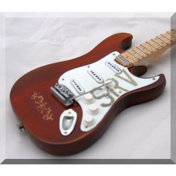 STEVIE RAY VAUGHAN Miniature Mini Guitar Lenny