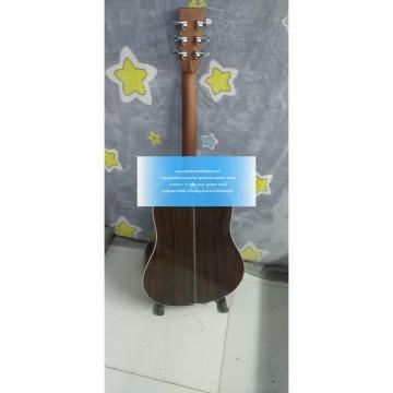 100% Solid Rosewood Custom Best Acoustic Guitar Martin D-45 Natural