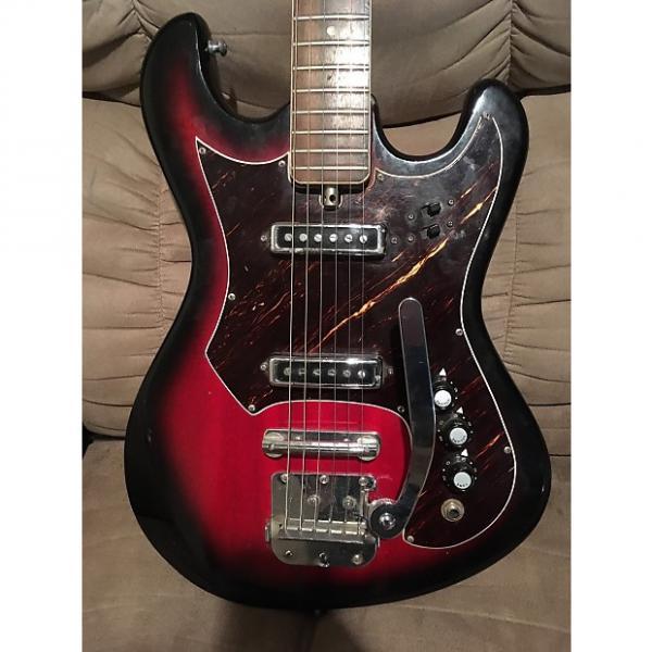 Custom Teisco Top Twenty 1961 Red Sunburst