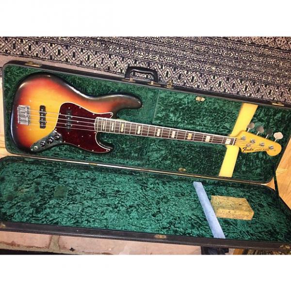 Custom Fender Jazz Bass 1970 3 Color Sunburst