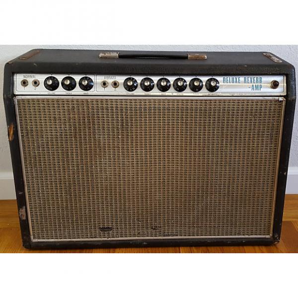 Custom 1968 Fender Deluxe Reverb Amp Silverface Drip Edge Vintage Combo Guitar Amplifier