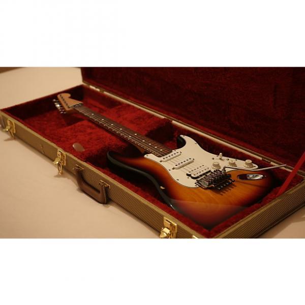 Custom Fender American Stratocaster HSS w/Floyd Rose 1997 Sunburst