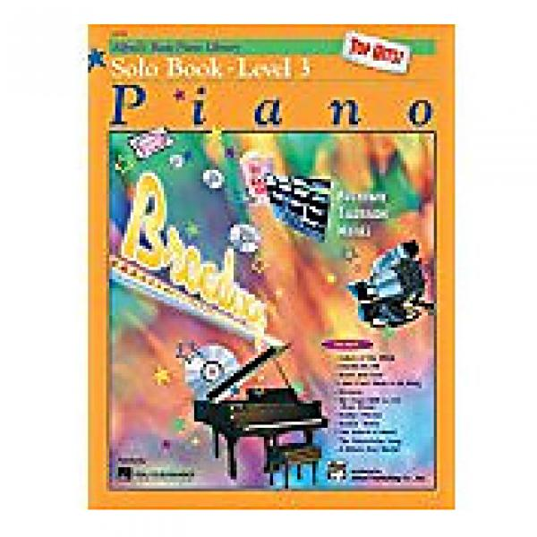 Custom Alfred's Basic Piano Library Level 3 - Solo