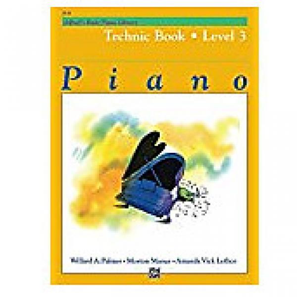 Custom Alfred's Basic Piano Library Level 3 - Technic
