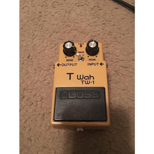 Custom Boss  T wah tw-1 80's  Tan (for repair!)