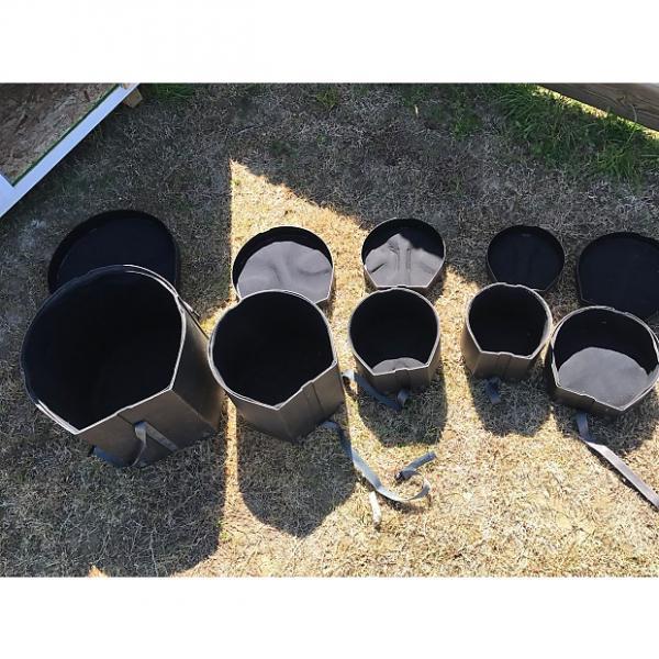 Custom SKB Drum Cases  2009 Black