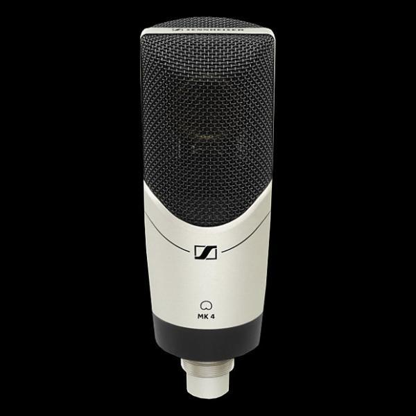Custom Sennheiser MK4 Large Diaphragm Condenser Microphone - Mint Condition with 6 Month Alto Music Warranty!