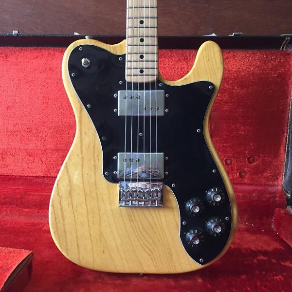 Custom 1974 Fender Telecaster Deluxe Natural Ash