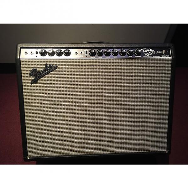 Custom Fender 65 Twin Reverb Reissue 85W 2x12 Guitar Combo Amp 2016 black