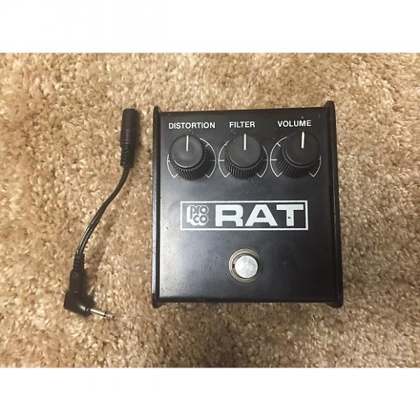 Custom Proco rat Black face 1987 Black