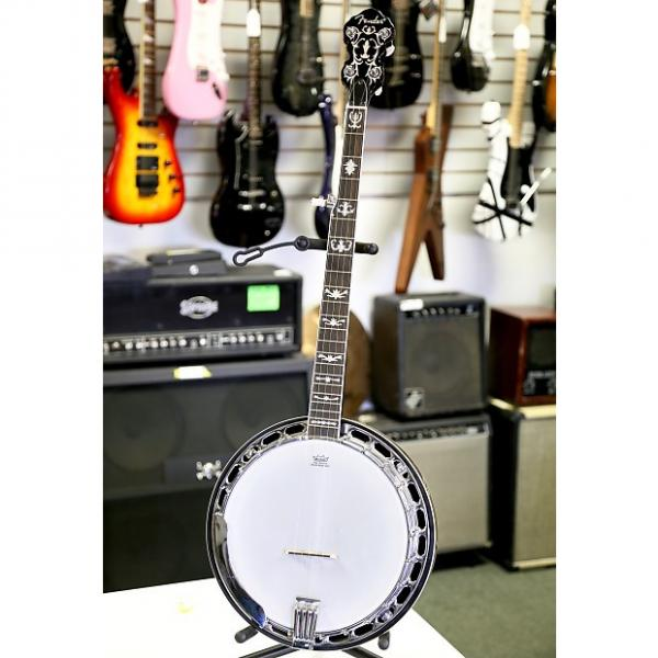 Custom Fender FB-58 Banjo w/ Hard Case -  2012 Natural