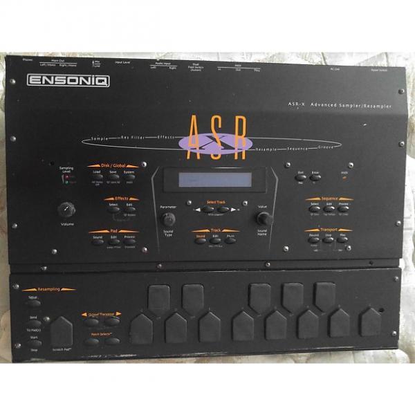 Custom Ensoniq ASR-X Advanced Re-sampling Recorder with SCSI add-on 16MB RAM 1998 Black & new encoders