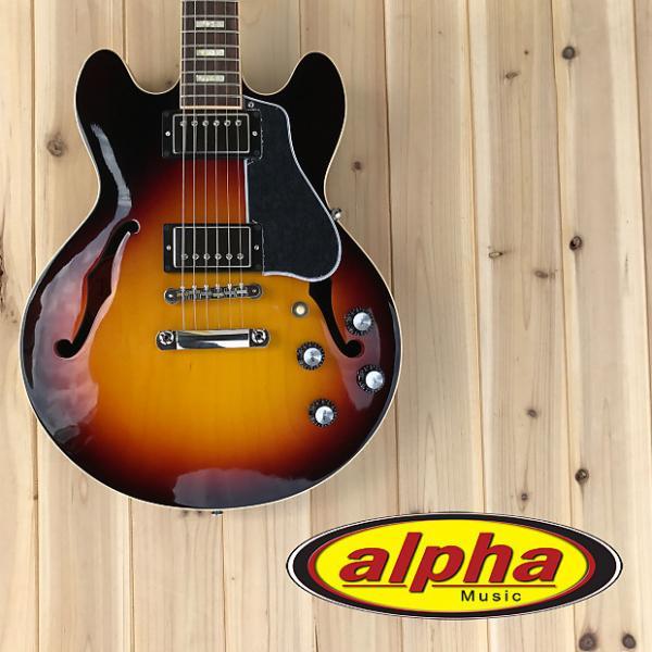 Custom Gibson Memphis ES-339 Sunset Burst w/case