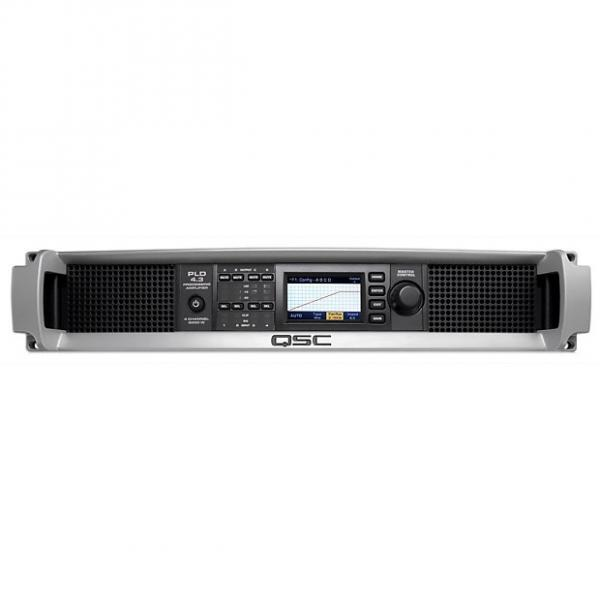Custom QSC PLD 4.3 Four-Channel Power Amplifier