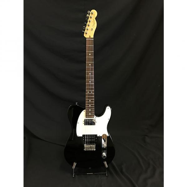 Custom Fender American Standard Telecaster HH 2014 Black w/ hard case