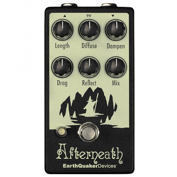 Custom Earthquaker Devices Afterneath Otherworldy Reverb V2 Reverberation Machine Pedal