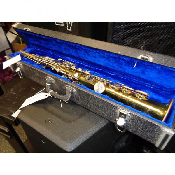 Custom vintage Samson Soprano saxophone w/ case + mouthpiece AS IS For parts or repair project