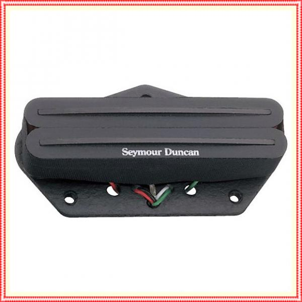Custom Seymour Duncan STHR-1b Hot Rails Lead for Tele Guitar Bridge Pickup Black