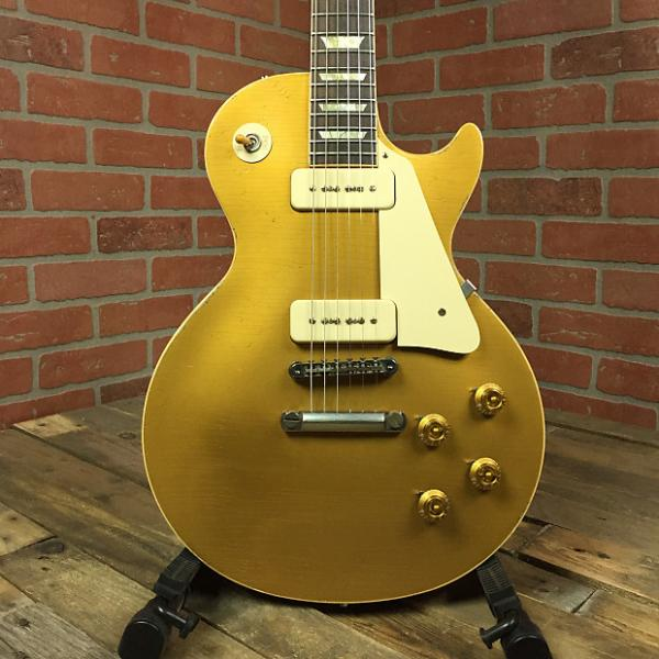Custom 2012 Gibson Aged VOS '56 R6 Les Paul Gold Top w/ OHSC, COA, Hang Tags