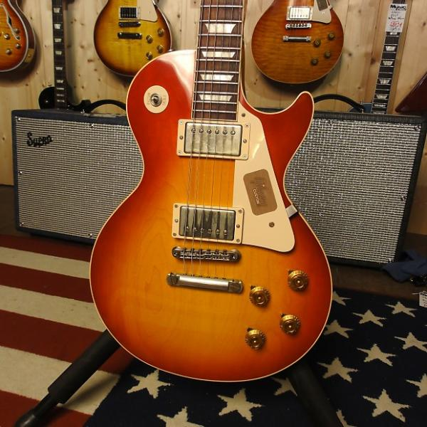 Custom Gibson '58 Les Paul Plain Top VOS 2013 Washed Cherry
