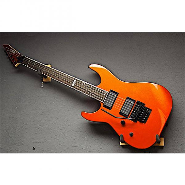 Custom ESP Left Handed LTD M-400M 2016 Agent Orange Lefty Guitar