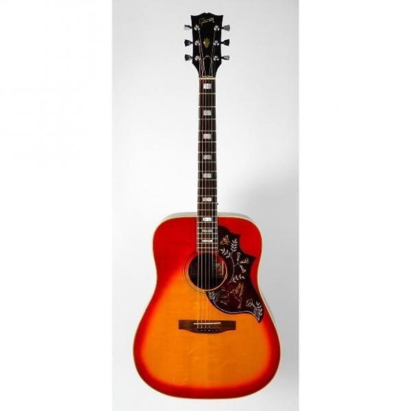 Custom Gibson Hummingbird Custom w/ OHSC 1977 Cherry Burst