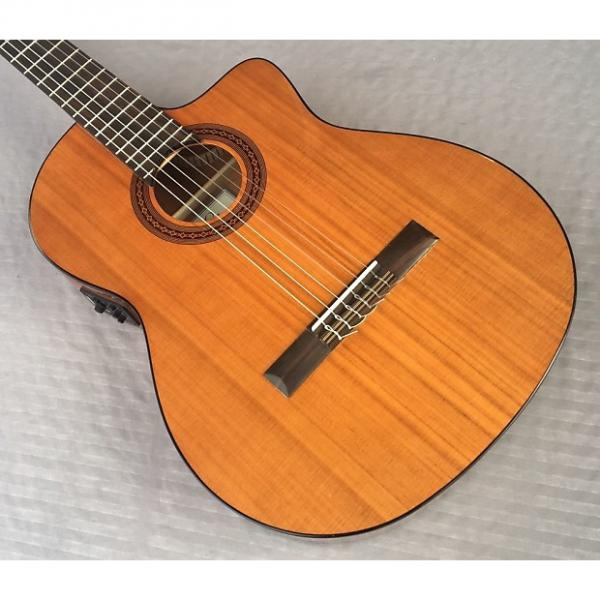 Custom Cordoba C5-CE Cedar Top Acoustic-Electric Nylon-String Classical Guitar