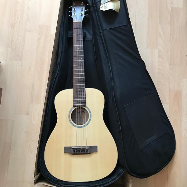 Custom Sigma TM-12EL Acoustic Travel Guitar (LEFT-HANDED)