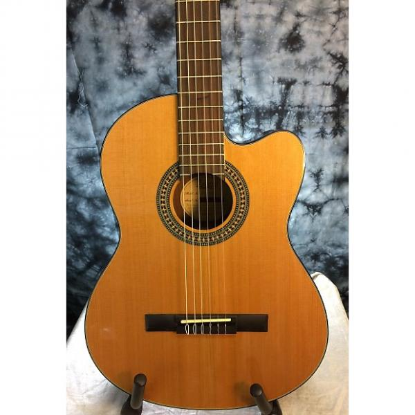 Custom Lucero LC200CE Natural Nylon String Acoustic Electric Classical