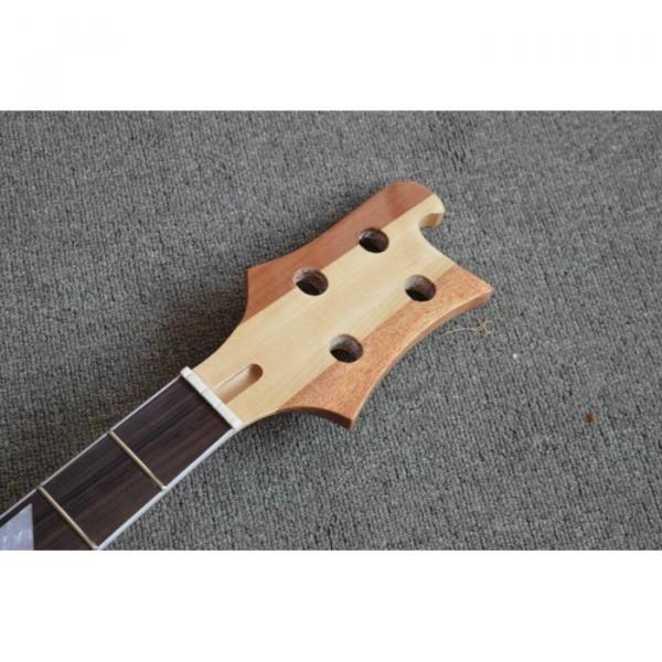 Project Maple Unfinished Neck Thru Body 4003 Rickenbacker Bass Natural Finish