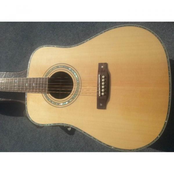 Custom Shop Fishman EQ Martin Sitka Solid Spruce Top D42 Acoustic Electric Guitar