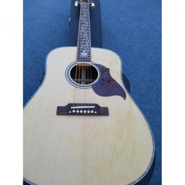 Custom martin guitars J45 martin acoustic guitar strings J-45 acoustic guitar martin Natural acoustic guitar strings martin Finish martin guitar accessories Acoustic Guitar Tree of Life Inlay