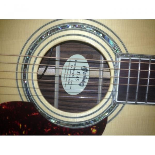 Cream martin guitar strings D45 martin strings acoustic Acoustic martin guitar case Electric martin d45 Guitar martin guitars acoustic With Fishman Pickup Sitka Solid Spruce Top With Ox Bone Nut & Saddler