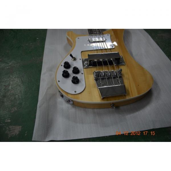 Custom Shop Rickenbacker Left Hand Natural 4003 Bass