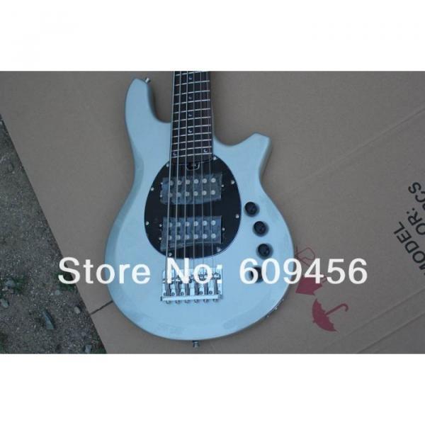 Custom Shop Passive Pickups Bongo Music Man Silver 6 Strings Bass