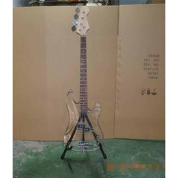 Custom Shop Crystal Acrylic 4 String P Bass