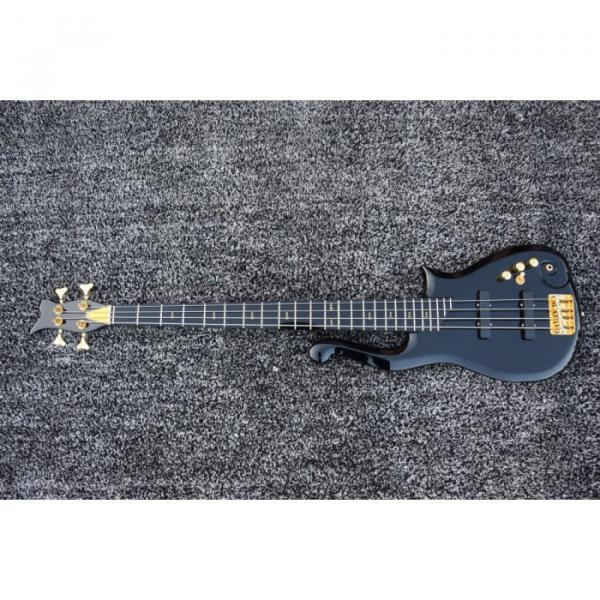 Custom Shop Black Prince 4 String Cloud Electric Bass Left/Right Handed Option