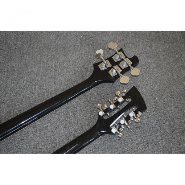 Custom Shop 4003 Double Neck Mike Rutherford of Genesis 4 String Bass 6/12 String Option Guitar