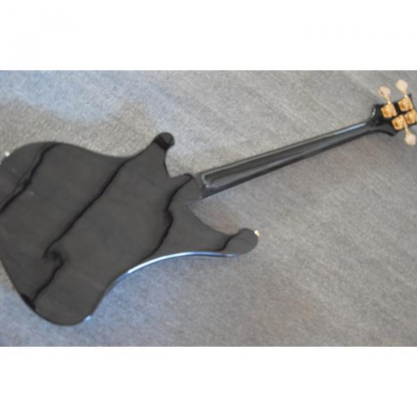 Custom Made 4003 Jet Black Fretless Electric Bass